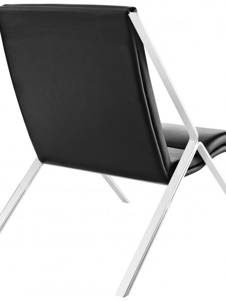 Black Leather Balance Rocking Chair 3 461x614