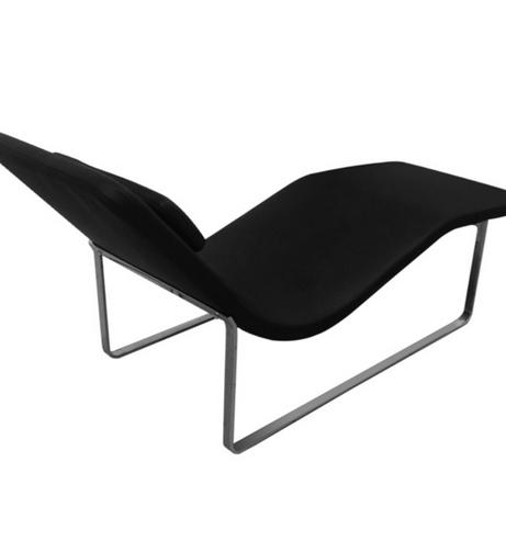 Black Leather Orbit Lounge Chair 3 461x503