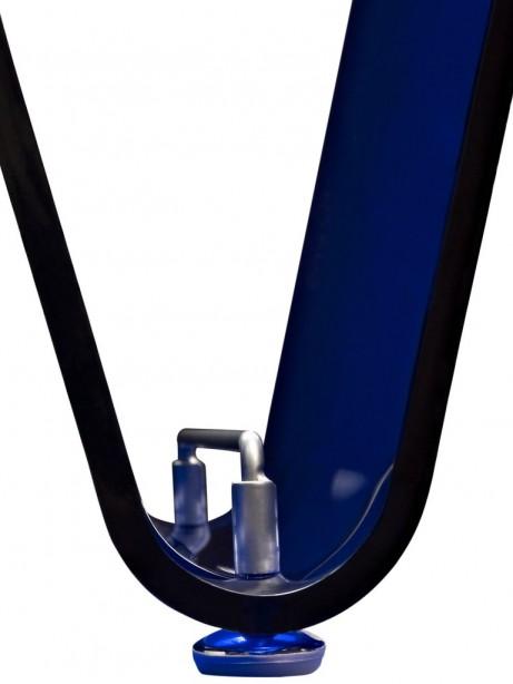 Blue Acrylic Wave Magazine Rack 3 461x614