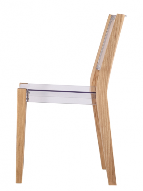 Clear Wood Square Chair 5 461x614