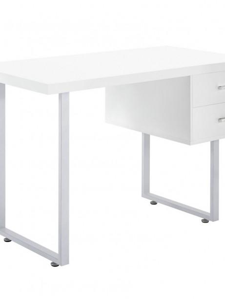 White Cubist Desk 461x614