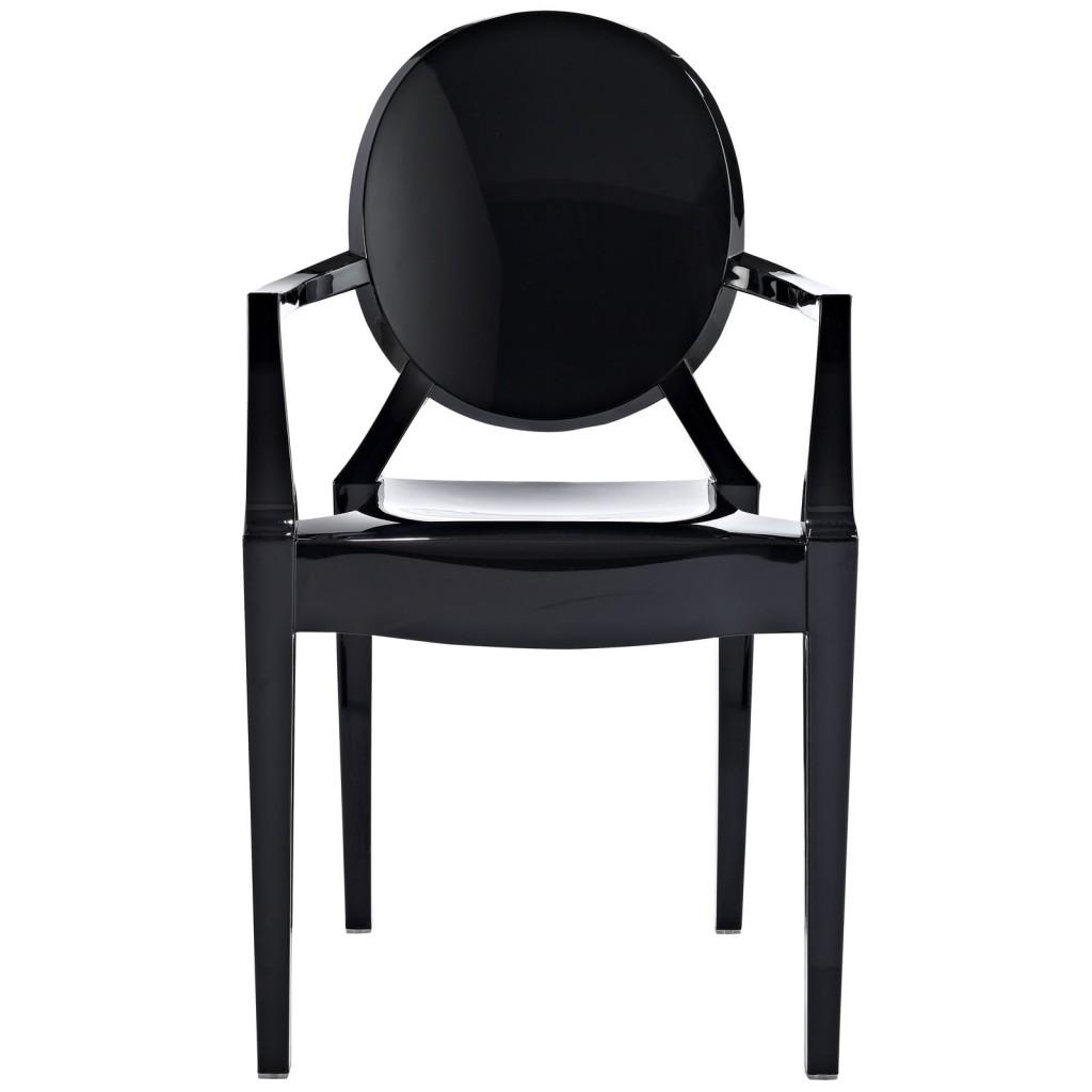 Black Throne Chair 2