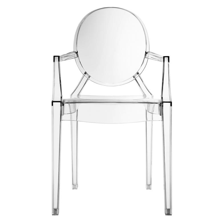 Clear Throne Chair