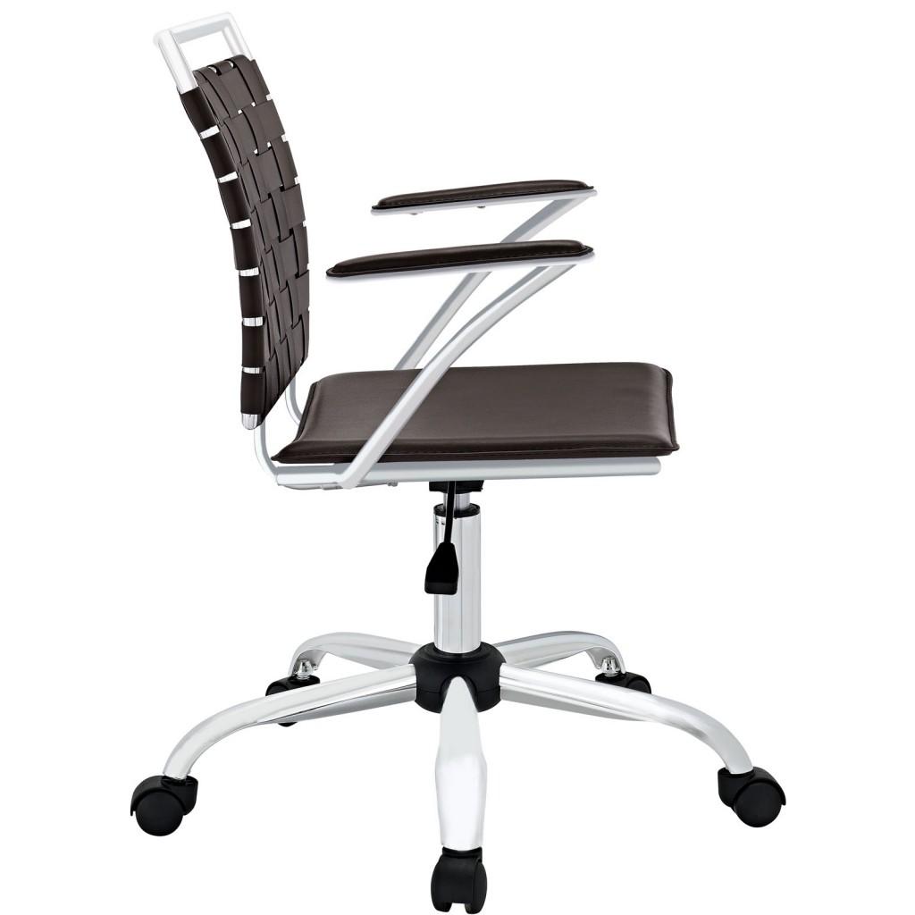 Espresso Area Office Chair 1
