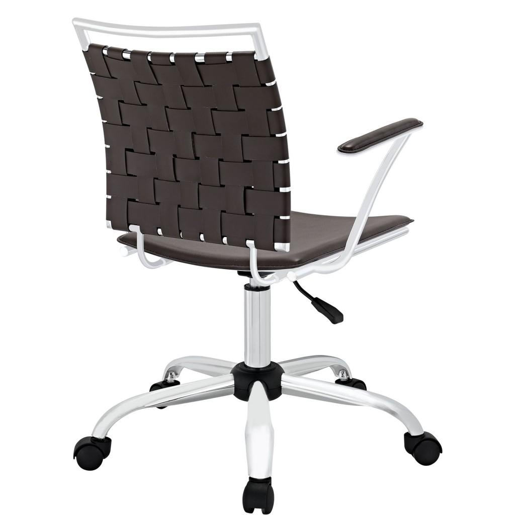 Espresso Area Office Chair 2