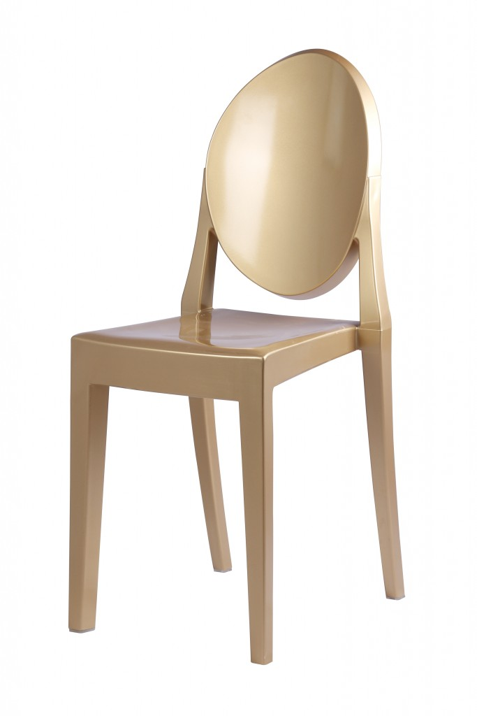 Gold Side Chair 2
