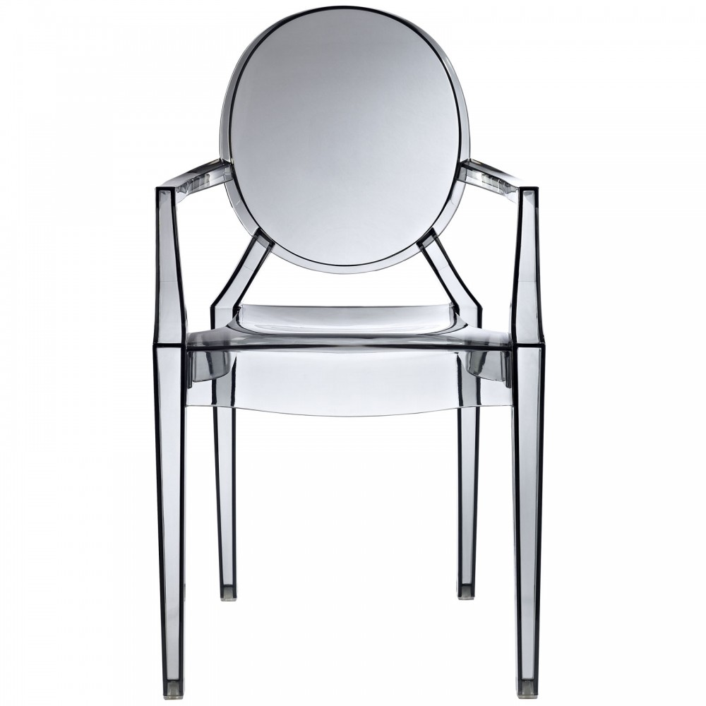 Gray Transparent Throne Chair 2 1000x1000