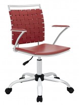 Red Area Office Chair 156x207