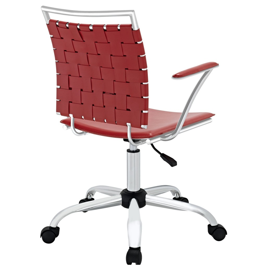Red Area Office Chair 2