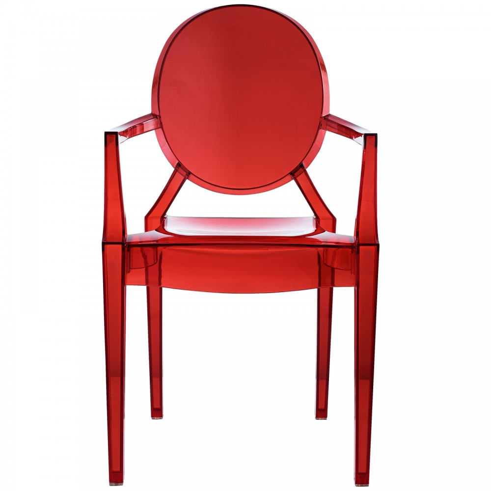 Red Transparent Throne Chair 2 1000x1000