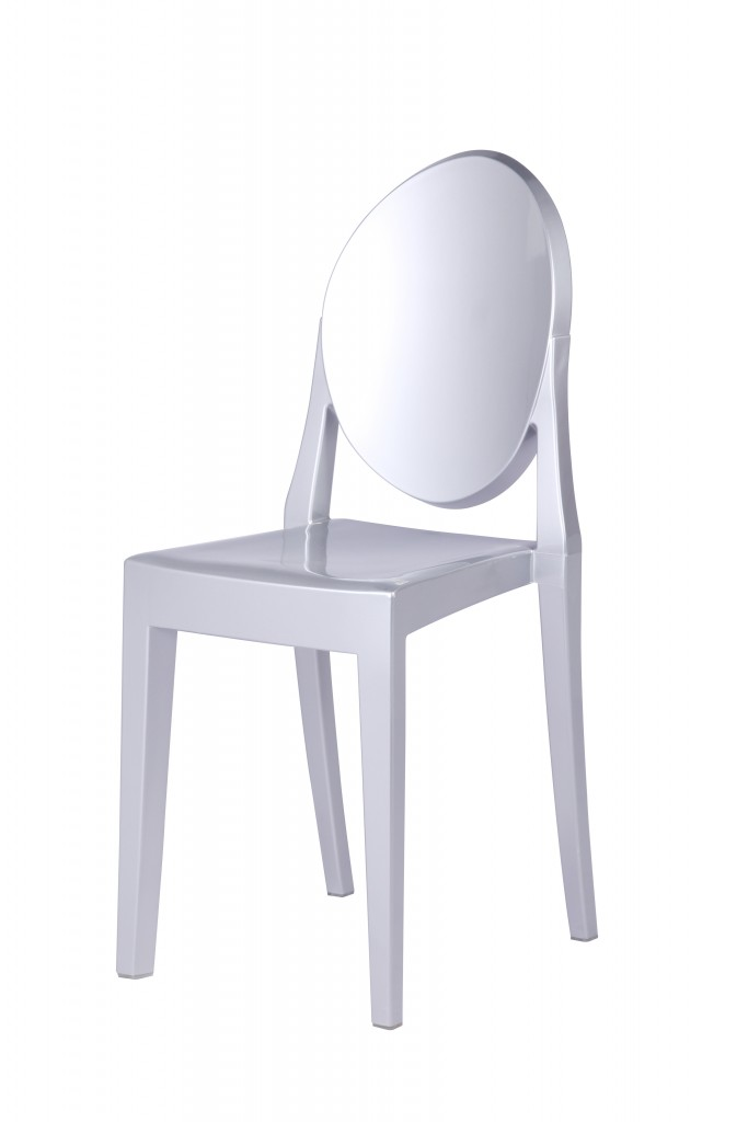 Silver Side Chair 2