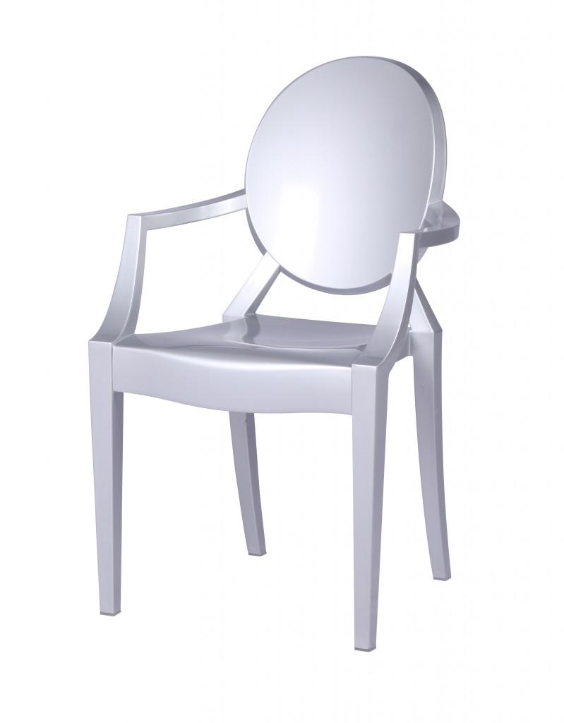 Silver Throne Armchair 2