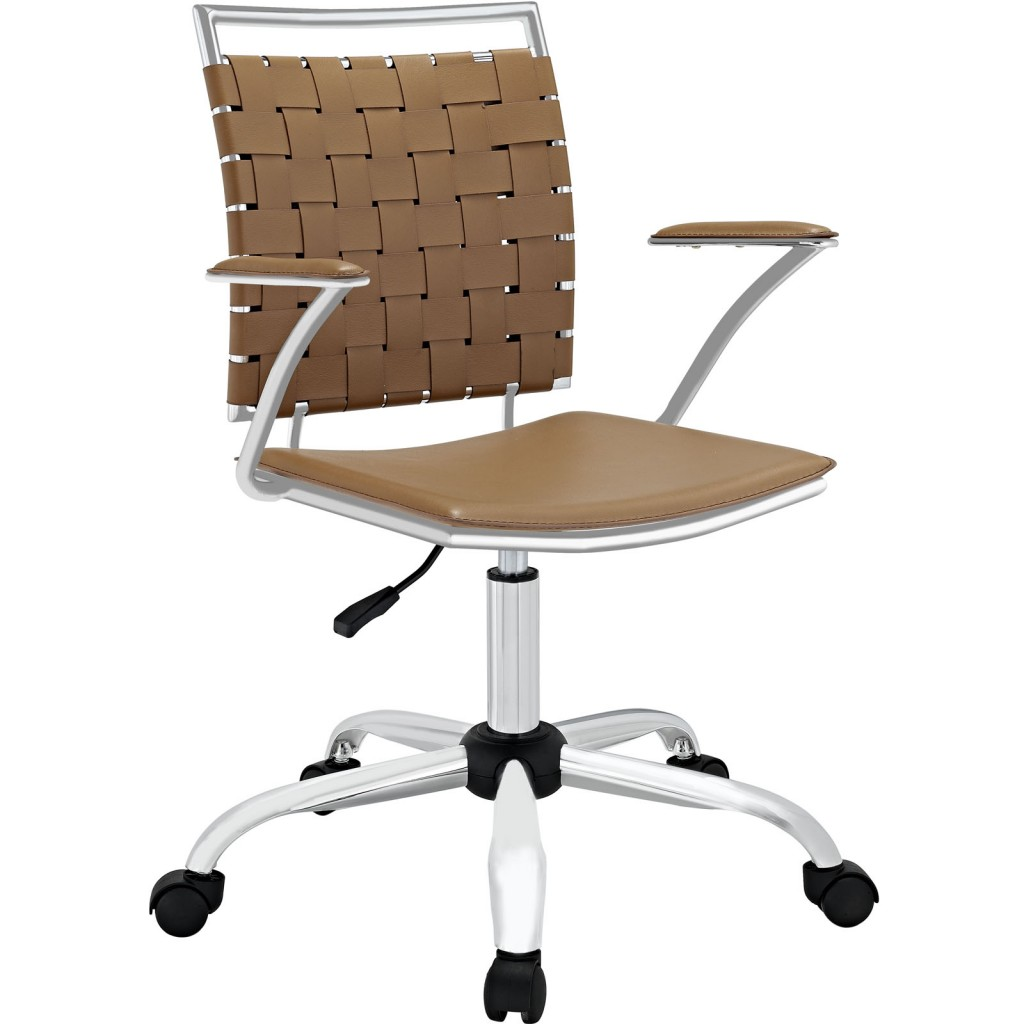 Tan Area Office Chair 1