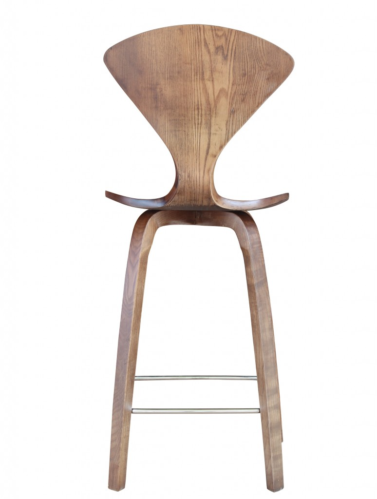 Walnut Wood Spider Barstool 5