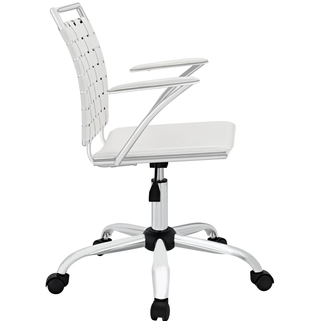 White Area Office Chair 1