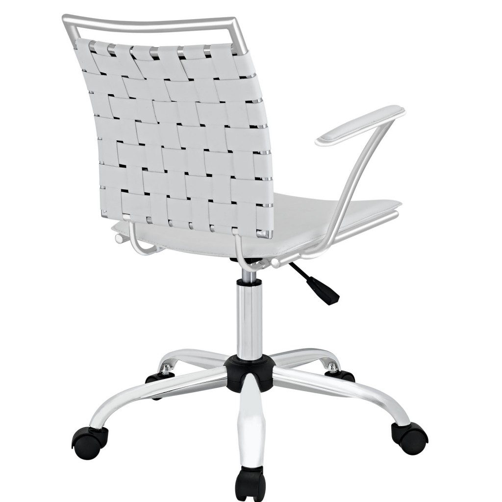 White Area Office Chair 2