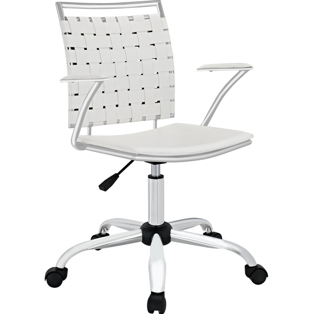 White Area Office Chair