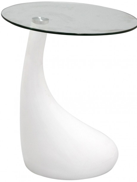 White Droplet Side table 461x614