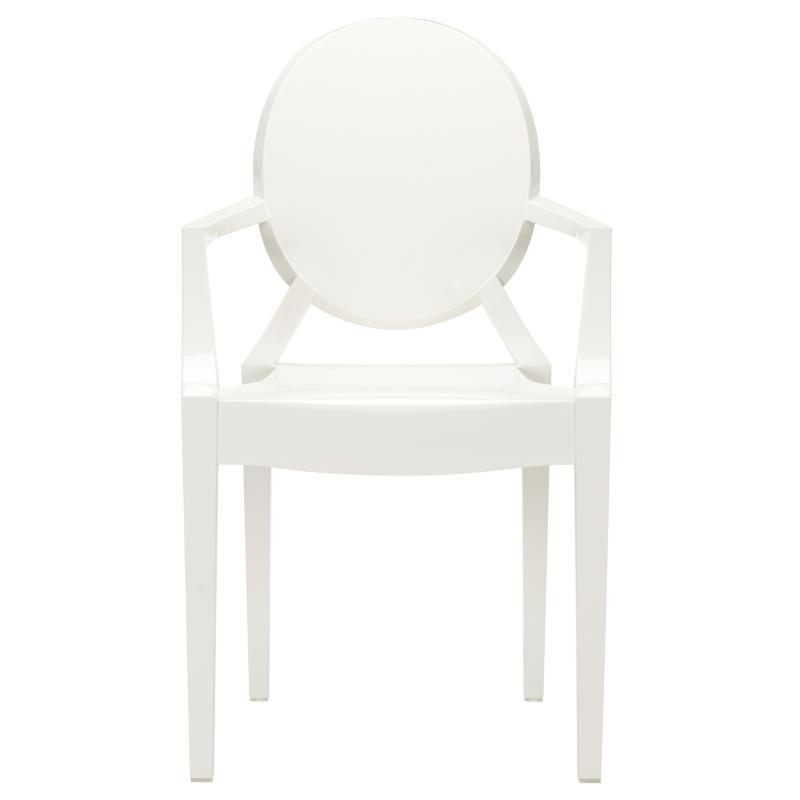 White Throne Chair 1