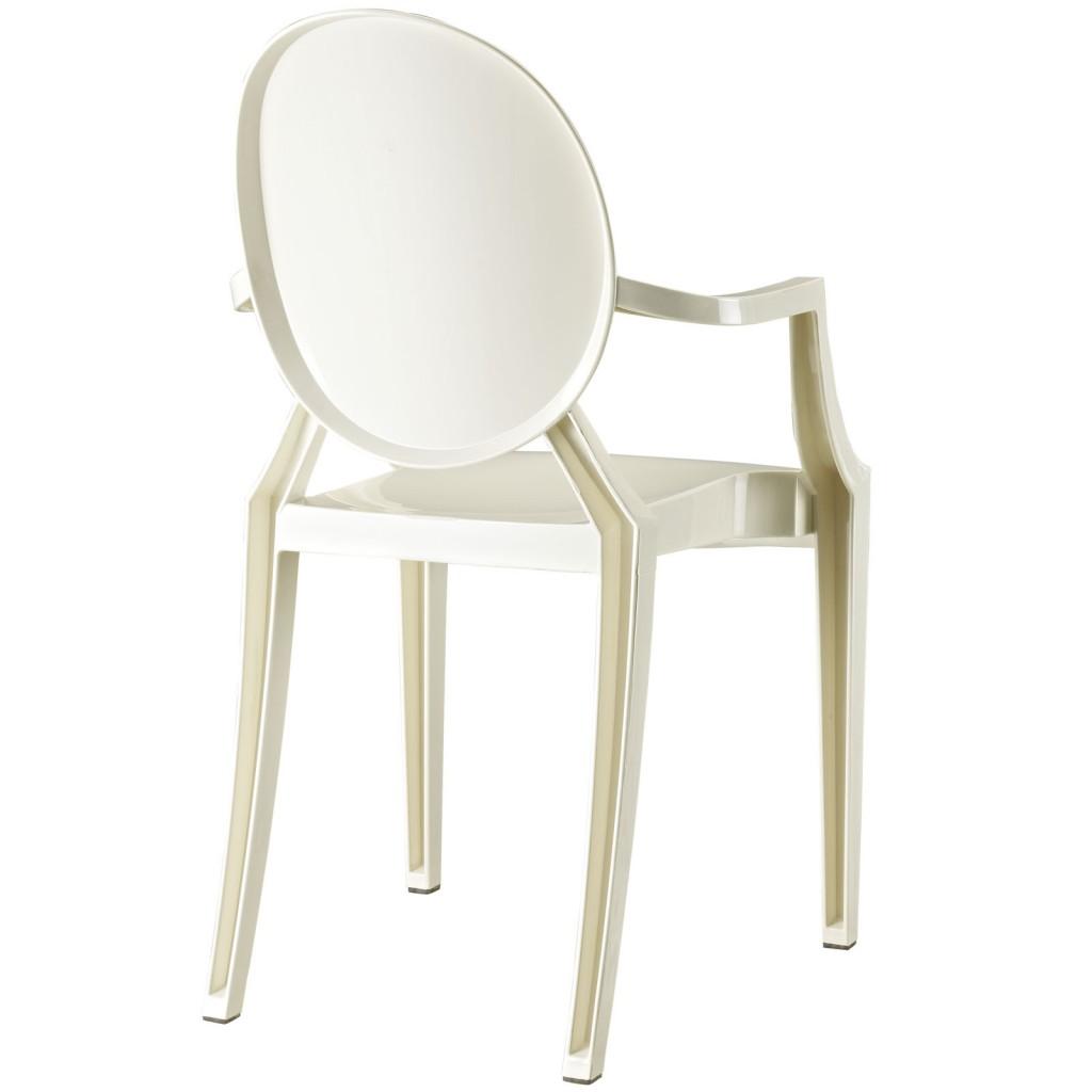 White Throne Chair 2