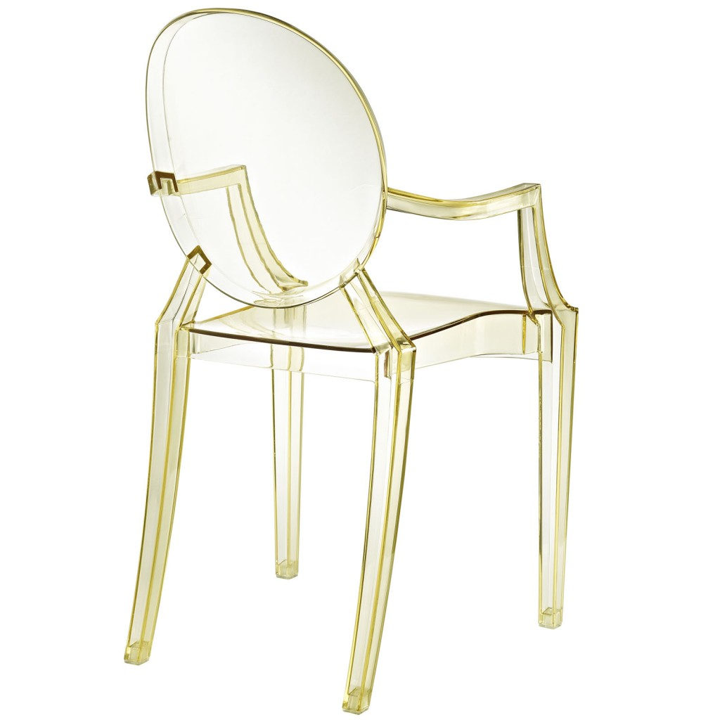 Yellow Transparent Throne Chair 2 1000x1000