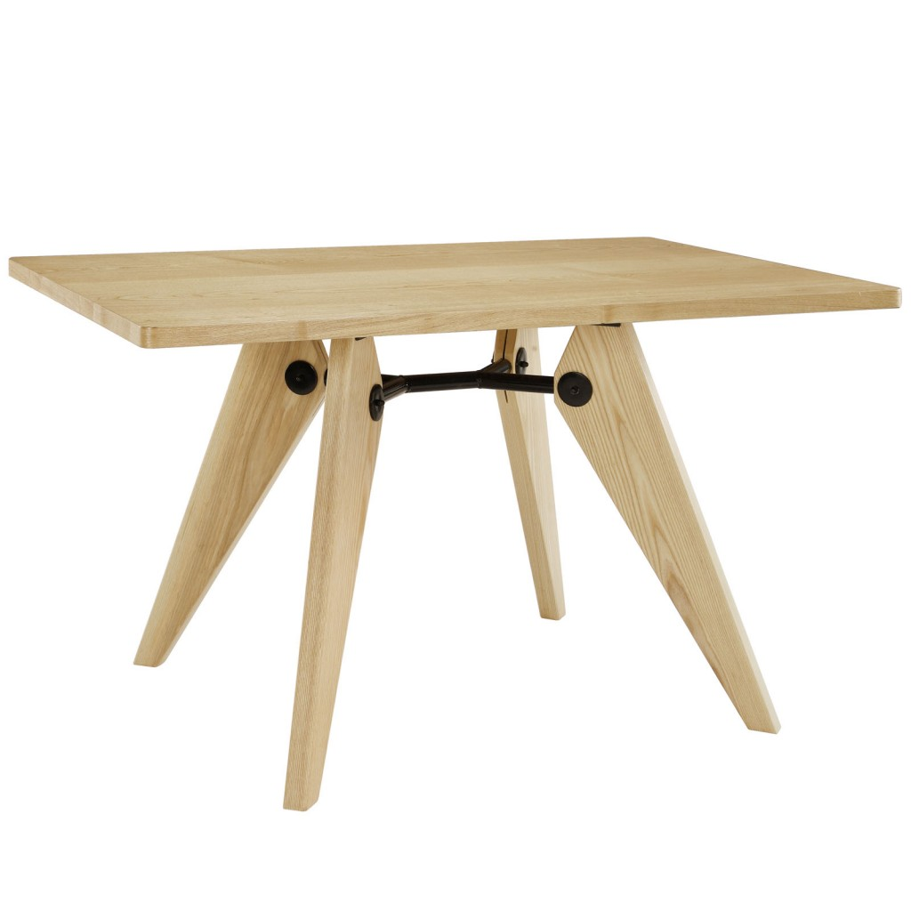 Grove Natural Wood Square Dining Table 2