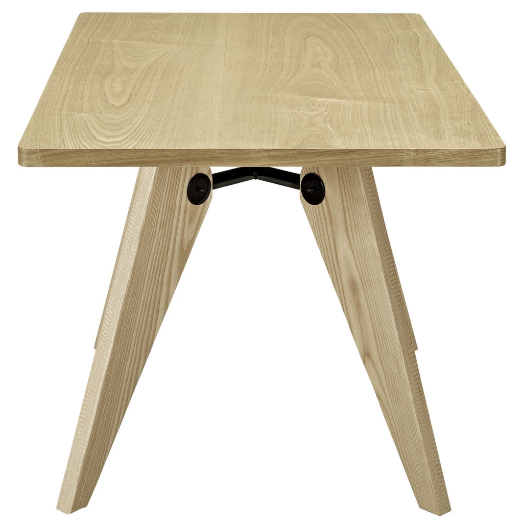 Grove Natural Wood Square Dining Table 3