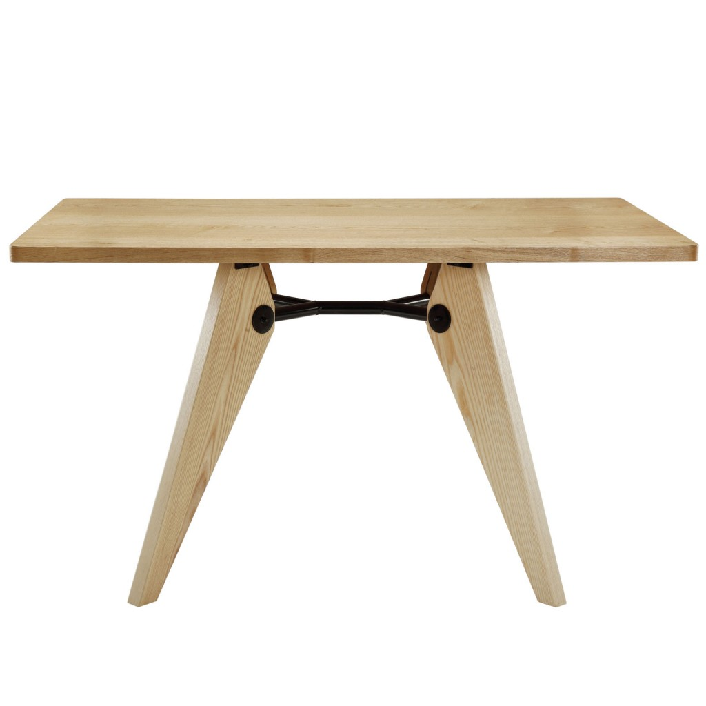Gentil Grove Natural Wood Square Dining Table