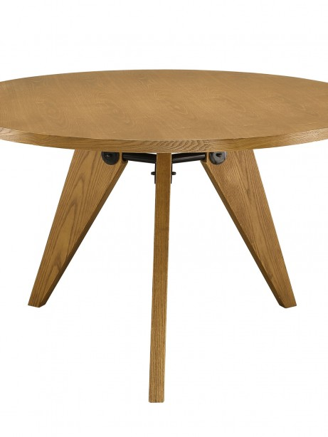 Grove Walnut Wood Round Dining Table 461x614