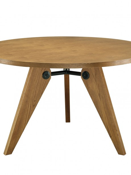 Grove Walnut Wood Round Dining Table1 461x614