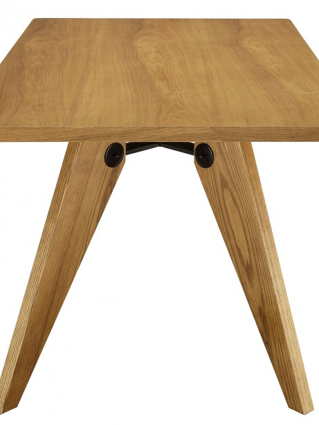 Grove Walnut Wood Square Dining Table 3 461x614