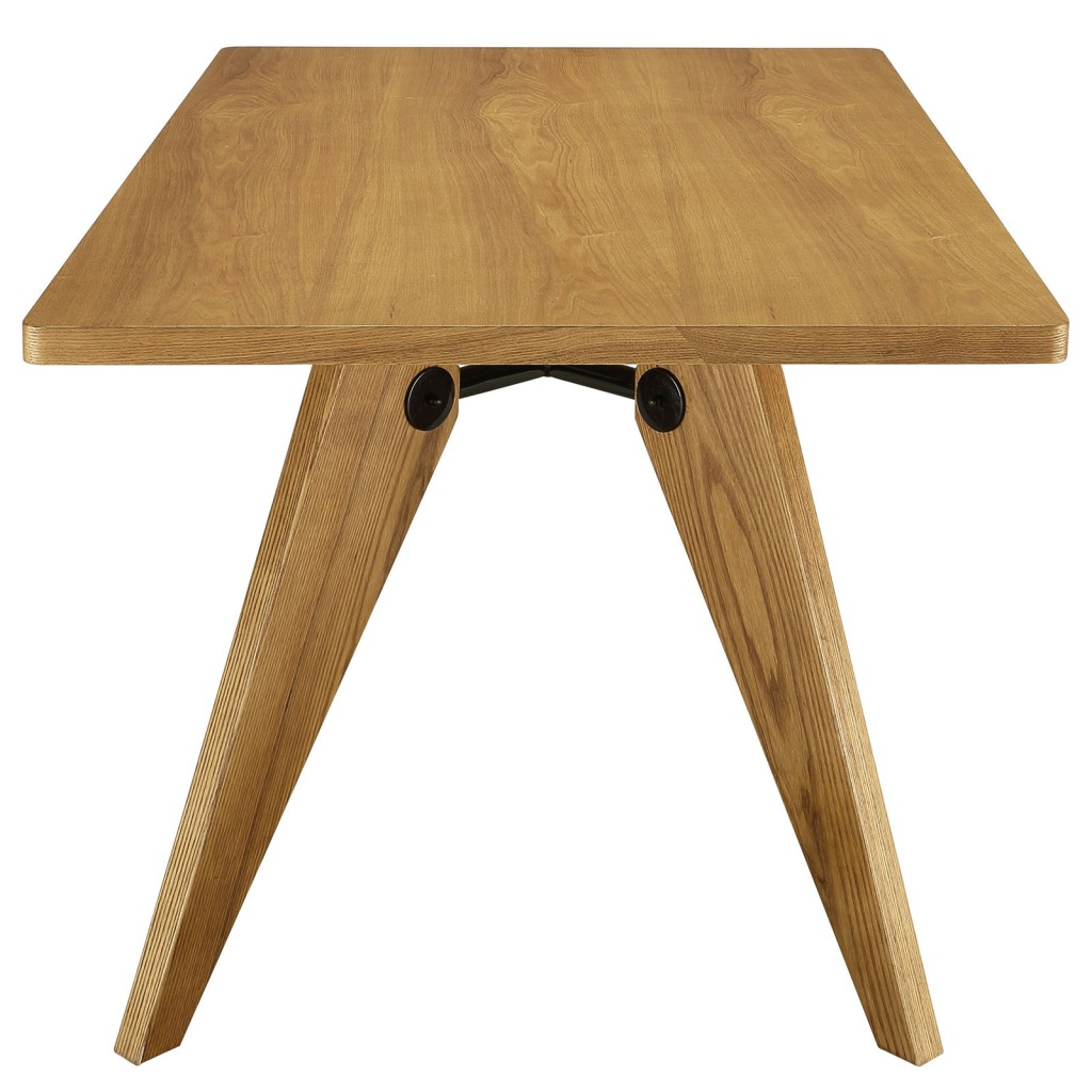 Grove Walnut Wood Square Dining Table 3