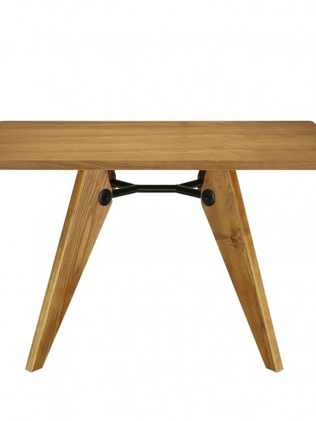 Grove Walnut Wood Square Dining Table 461x614