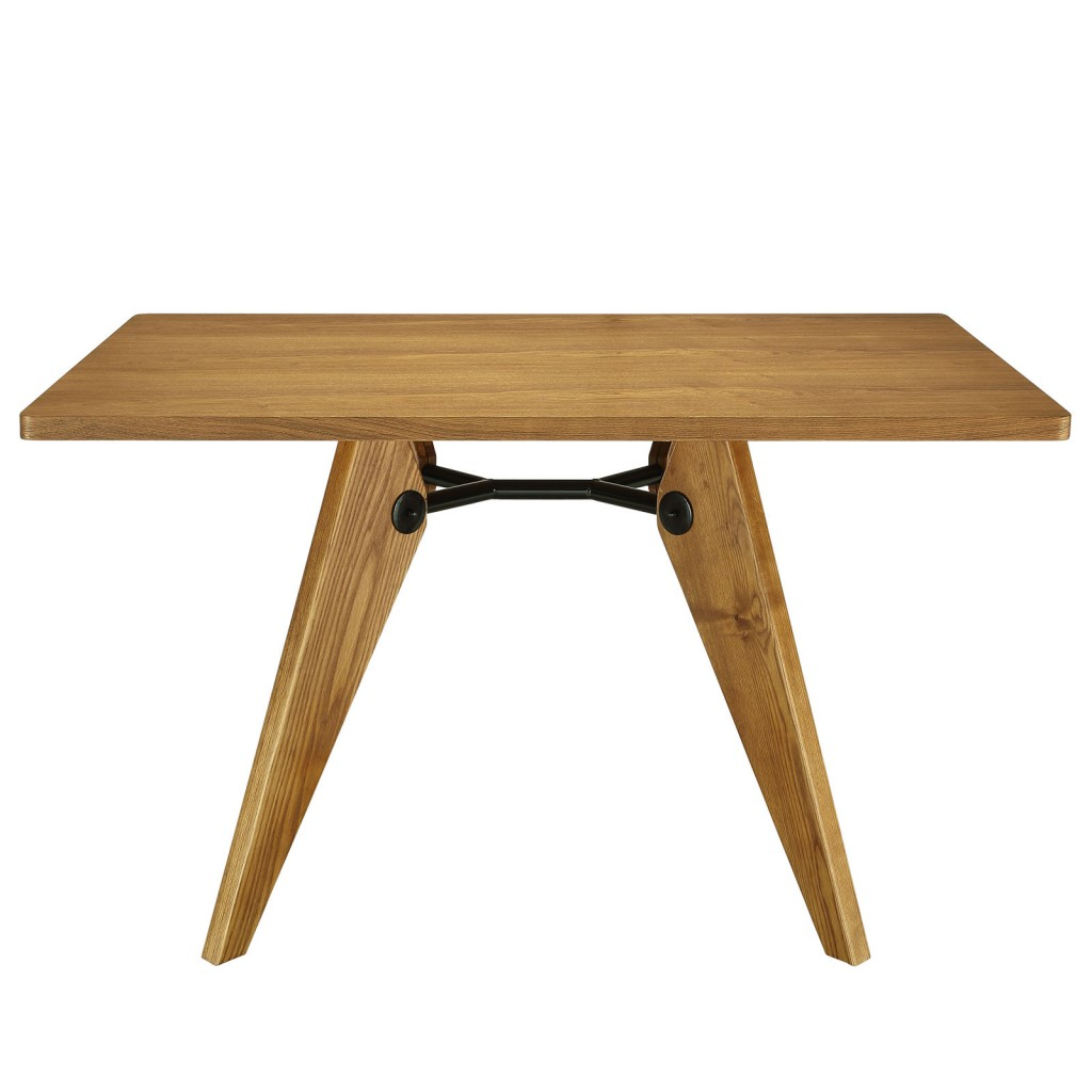 Grove Walnut Wood Square Dining Table