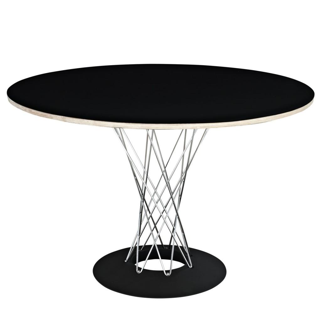 Mezza Black Dining Table