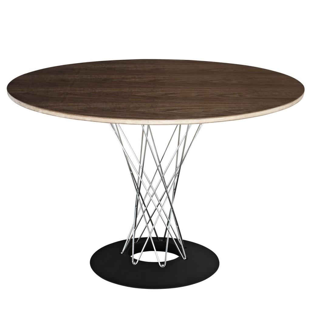 Mezza Walnut Wood Dining Table