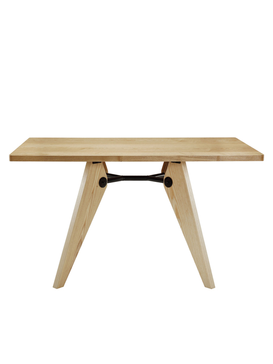 Natural Grove Wood Square DIning Table