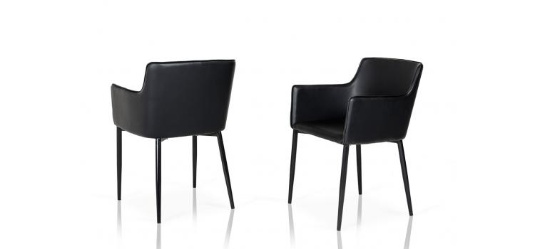 Prime Black Leather Chair 3