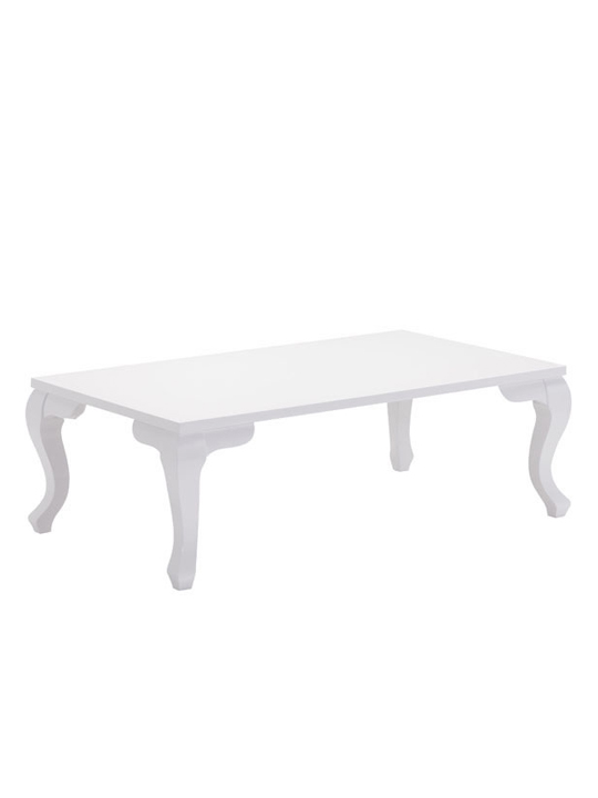 White Essence Rectangular Coffee Table