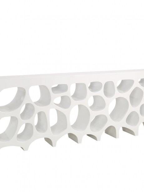 White Hive Console Table 461x614