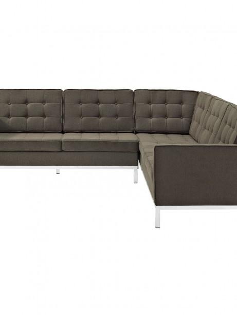 Bateman Wool L Shaped Sectional Sofa Brown 3 461x614
