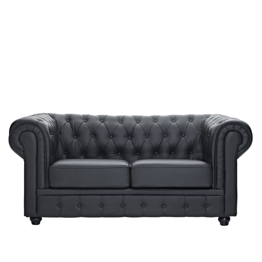 Grand Loveseat Black