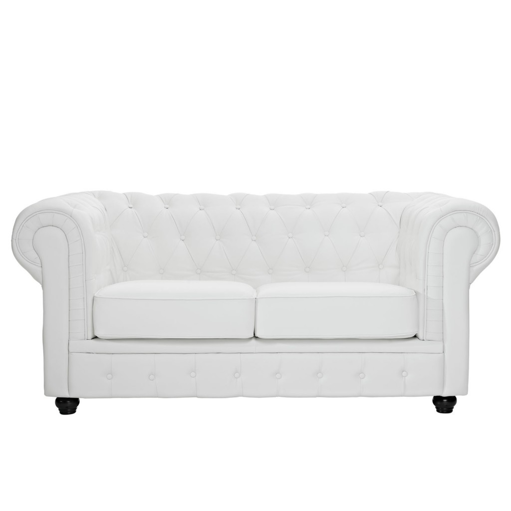 Grand Loveseat White