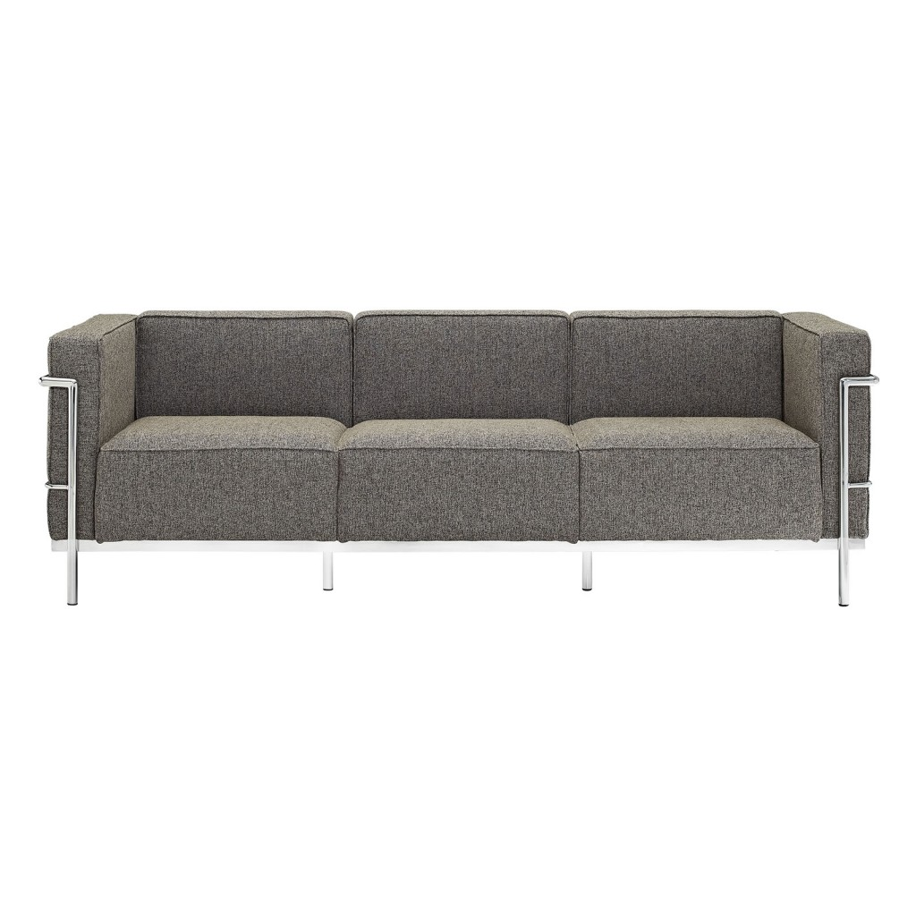 Simple Large Wool Sofa Oatmeal 1