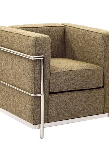 Simple Medium Wool Armchair Oatmeal 1 461x614