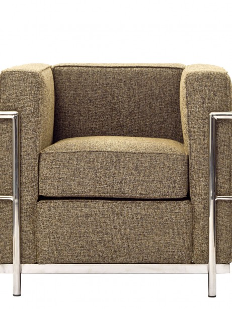 Simple Medium Wool Armchair Oatmeal 461x614