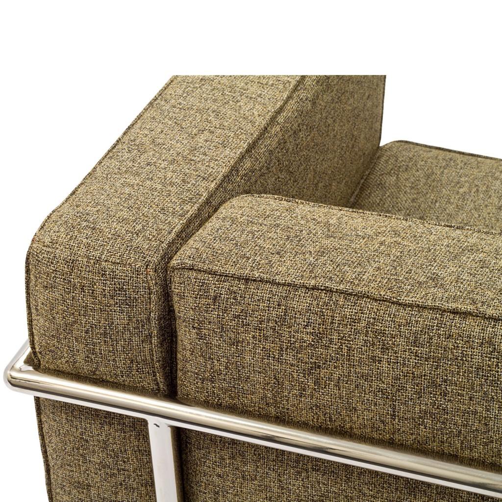 Simple Medium Wool Armchair Oatmeal 5