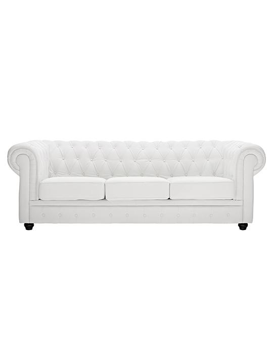 White Grand Sofa