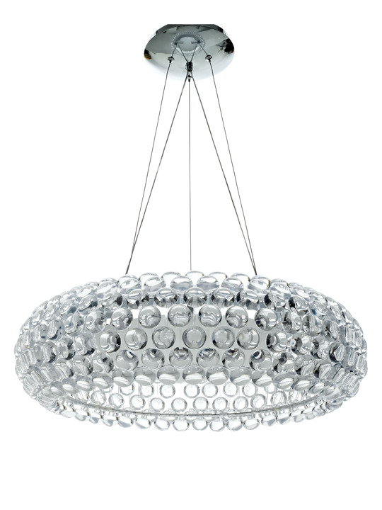 Large Cubic Chandelier