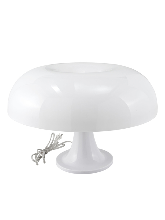 White Dome Table Lamp